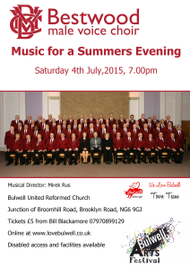 bestwood choir